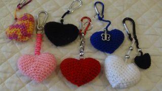CUORE DI S.VALENTINO - cuore a crochet amigurumi   180x320